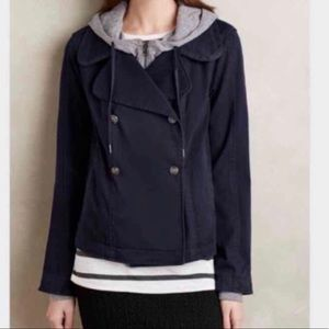 Anthropologie Hei Hei Layered Solin Jacket